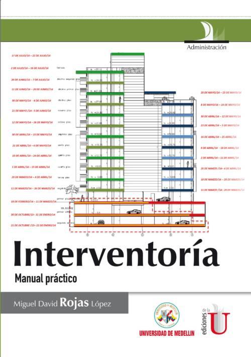 El libro presenta las formas de control que realiza la interventoría en diferentes contratos según su naturaleza. Asimismo